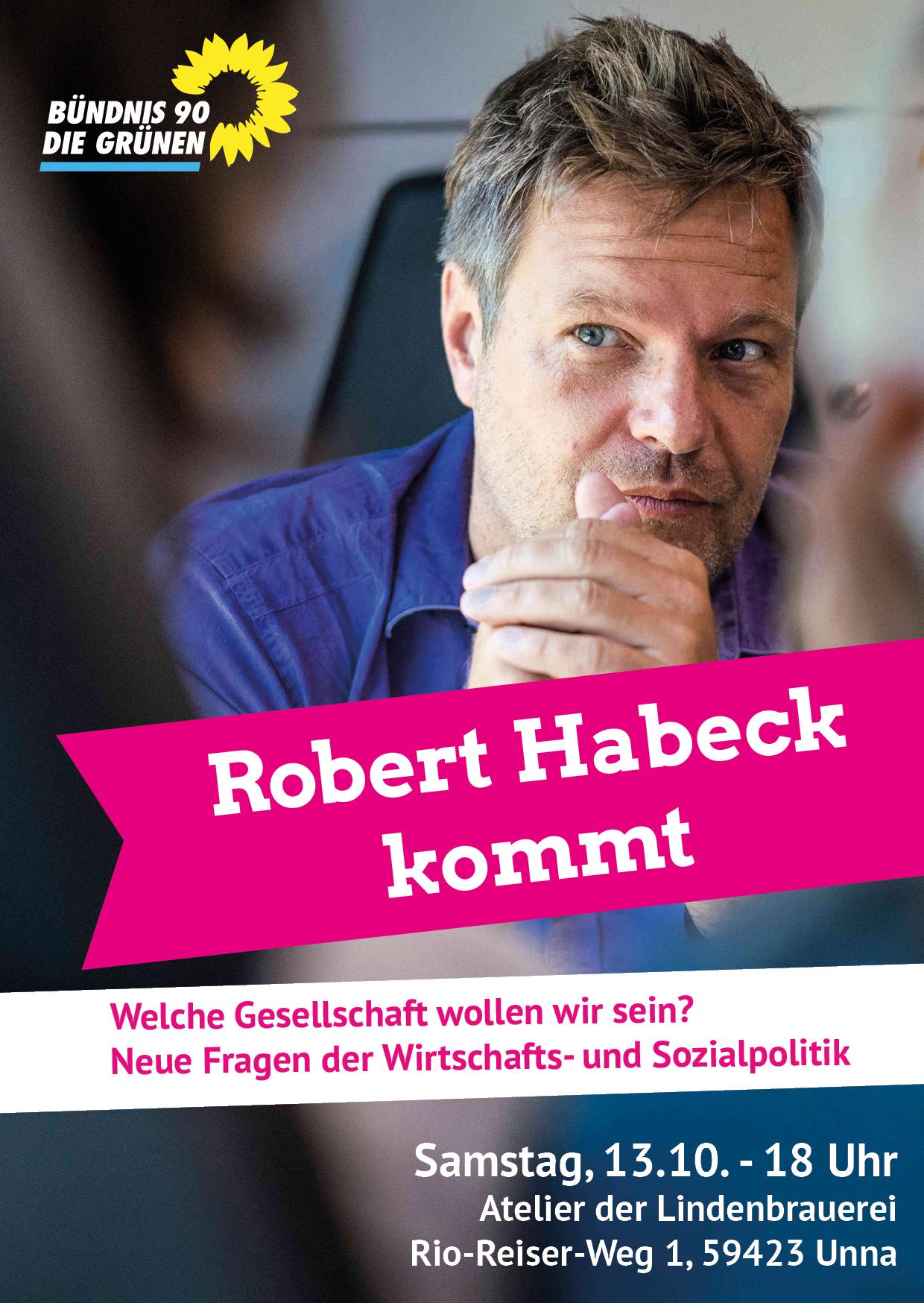 Diskussionsabend mit Robert Habeck