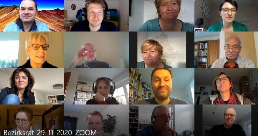 Bezirksrat 2020: Begrüßungs- und Bewerbungsreden im Video